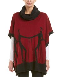 Krimson Klover - Altitude Wool Poncho - Lyst