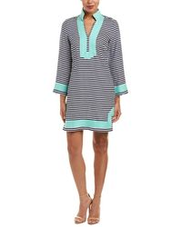 Sail To Sable - Linen Shift Dress - Lyst
