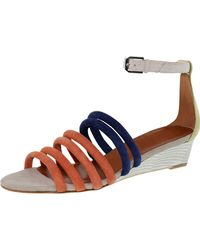 Rebecca Minkoff - Women's Lucie Coral Ankle-high Suede Sandal - 8m - Lyst