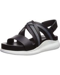 Cole Haan - Women's 2.zerogrand Criss Cross Sandal Flat - Lyst