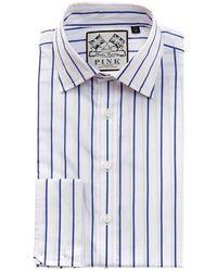 Thomas Pink - Alford Slim Fit Dress Shirt - Lyst