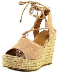 COACH - Womens Dana Open Toe Casual Espadrille Sandals - Lyst