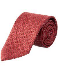 17432e16 Lyst - Ermenegildo Zegna Men's Slim Silk Necktie in Blue for Men