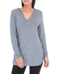 Bobeau - Cozy Sweater Hoodie - Lyst
