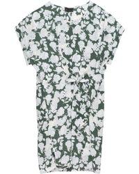 Bobeau - Penny Self Tie Plus Size Woven Dress - Lyst