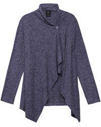 Bobeau - Signature Sweater Cardigan - Lyst