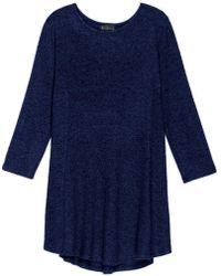 Bobeau - Soft Brushed Babydoll Hemline Knit - Lyst