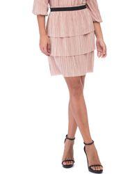 Bobeau - Fran Pleated Tiered Skirt - Lyst