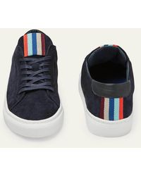 Boden Leather Sneakers - Blue