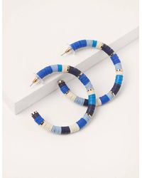 Boden Créoles à perles - Bleu