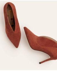 Boden Chaussures Shrewsbury façon bottines - Rouge