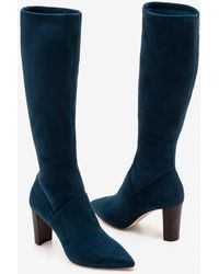 Boden Pointed Stretch Boots Seaweed - Green