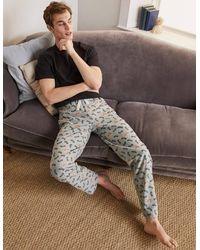 Boden - Pyjamahose aus gebürsteter Baumwolle GSP - Lyst