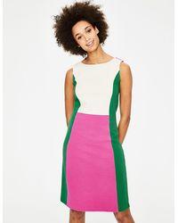 Boden Geraldine Ottoman Dress - Pink