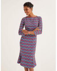 Boden Violette Kleid - Blau