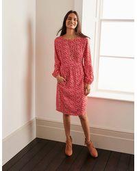 Boden Serena Kleid RED - Rot