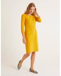 Boden Ellen Ottoman-Kleid - Gelb