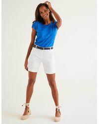 Boden Daisy Chino Shorts - White