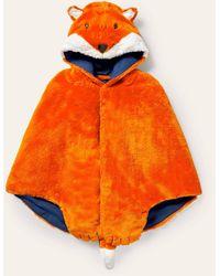 Boden Cape aus kunstfell zum verkleiden org - Orange