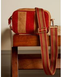 Boden Leather Crossbody Bag - Brown