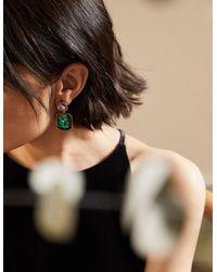 Boden Pendants d'oreilles ornementés - Vert