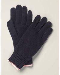 Boden Ribbed Gloves - Blue