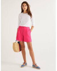 Boden Bamburgh Shorts Pink