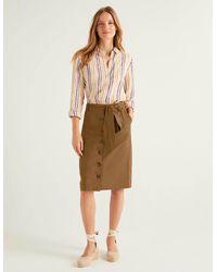 Boden Summerson Pencil Skirt Gingerbread - Brown