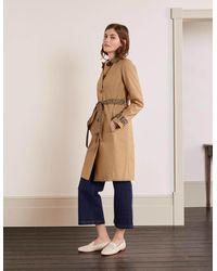 Boden Mark Trench Coat Camel - Brown