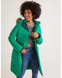 Boden Cavell Puffer Coat Highland - Green