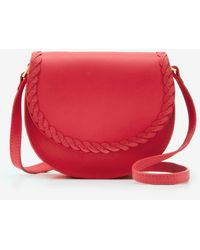 Boden Lingfield Mini Saddle Bag Sunset - Red