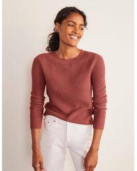 Boden Rosslyn Flauschiger Pullover PNK - Pink