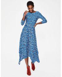Boden Maisie Jersey Midi Dress - Blue