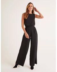 Boden Clarissa Jumpsuit - Black