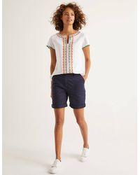Boden Walberswick Cargo Shorts - Blue