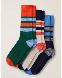 Boden Chaussettes épaisses pour bottes - Multicolore