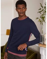 Boden Irvine Sweatshirt NST - Blau