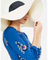 Boden Sun Hat And Navy - White
