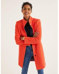 Boden Hengrave Coat - Orange