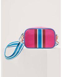 Boden Olivia Canvas Crossbody Bag Festival - Pink