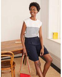 Boden Ailesbury Cargo Shorts - Blue