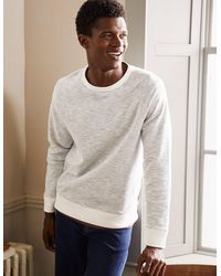 Boden Danby Brushed Sweatshirt - Grey
