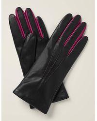 Boden Leather Gloves - Black