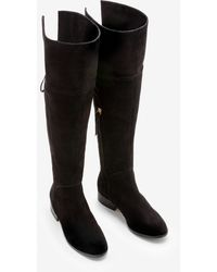 Boden Bray Over The Knee Boots - Black