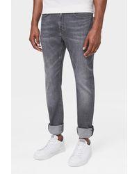 Bogner Rob Regular Fit Jeans In Anthracite - Grey