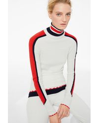 Bogner - Harper Knit Pullover In Off White - Lyst