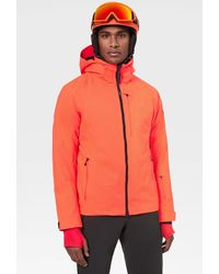 Bogner Eagle Ski Jacket In Neon Orange