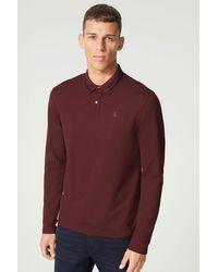 Bogner Langarm-Polo-Shirt Brasil - Lila