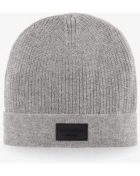 Bogner - Philip Knitted Hat In Husky Grey - Lyst