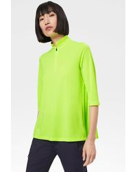 Bogner Adelina Functional Polo Shirt In Neon Green